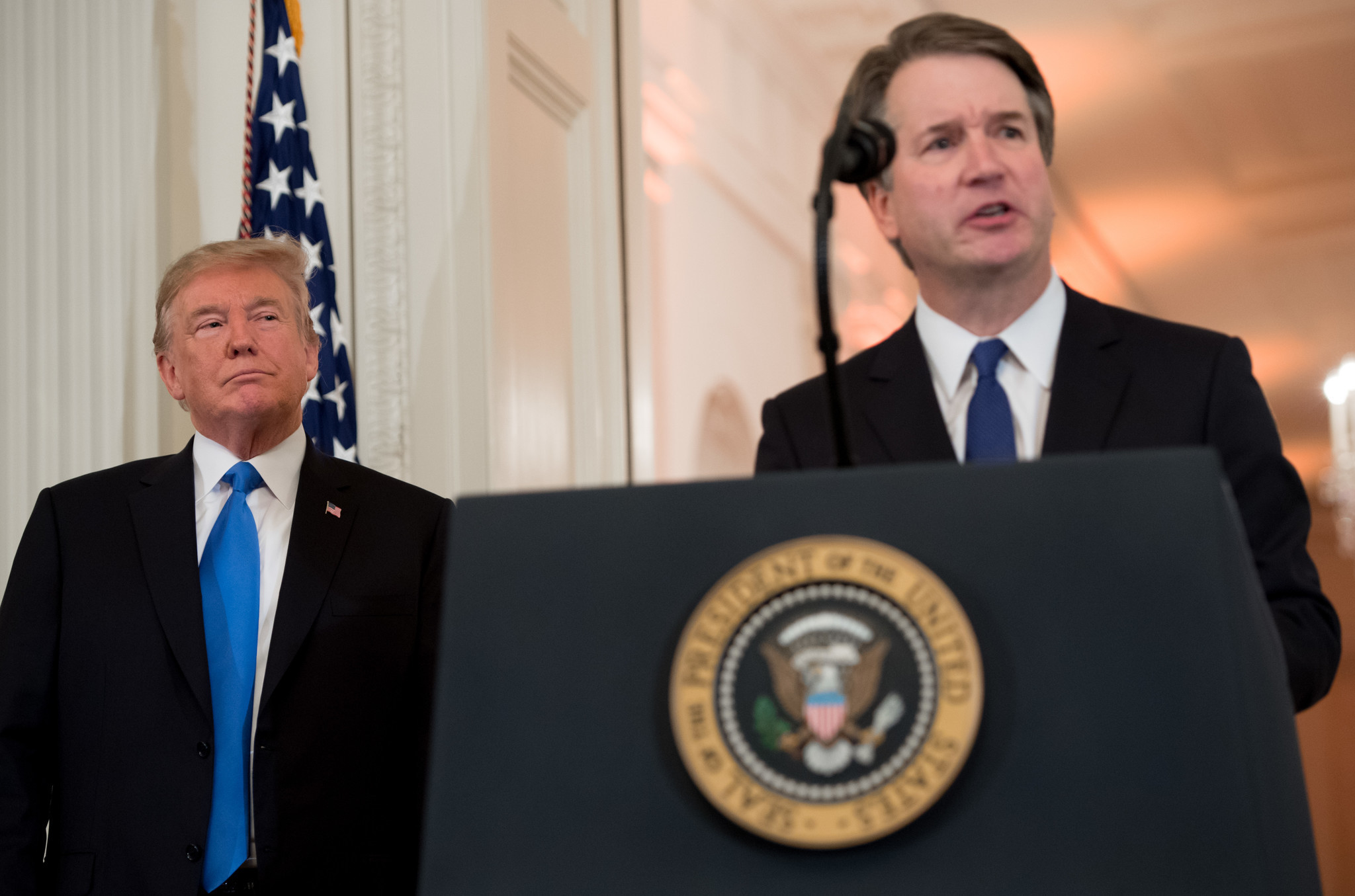 Image result for trump kavanaugh