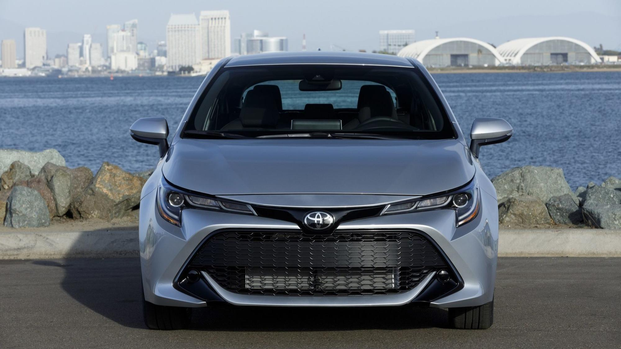 2019 Toyota Corolla Hatchback The shape of things to e The San