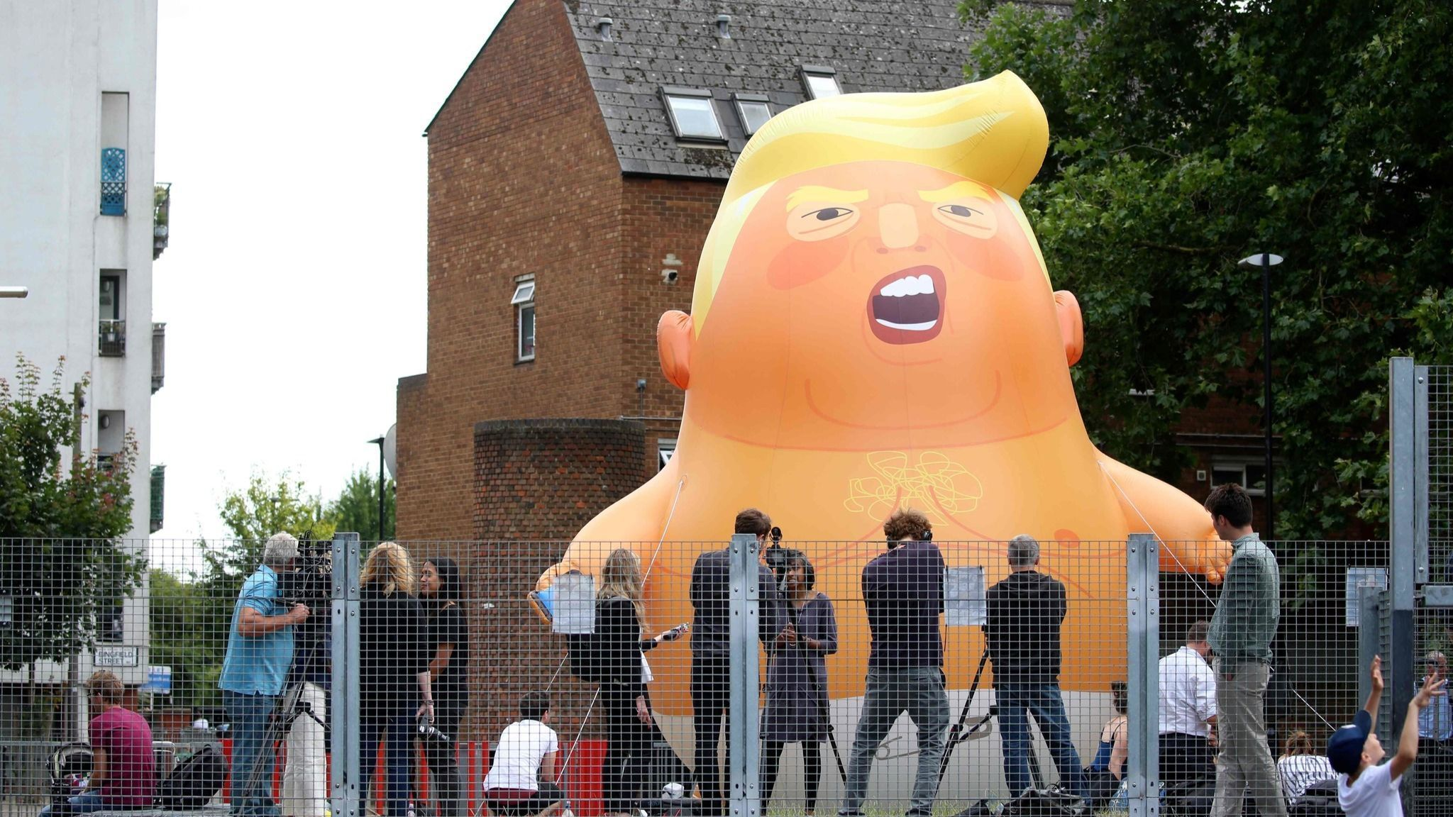 When Trump visits Britain, thousands of demonstrators plan to show him some resistance
