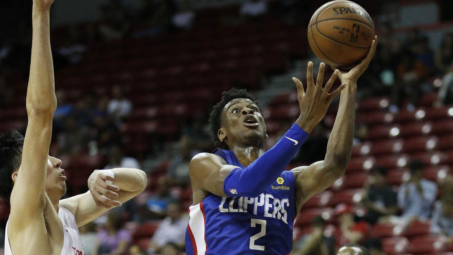 Clippers beat Wizards to advance to Summer League showdown with Lakers