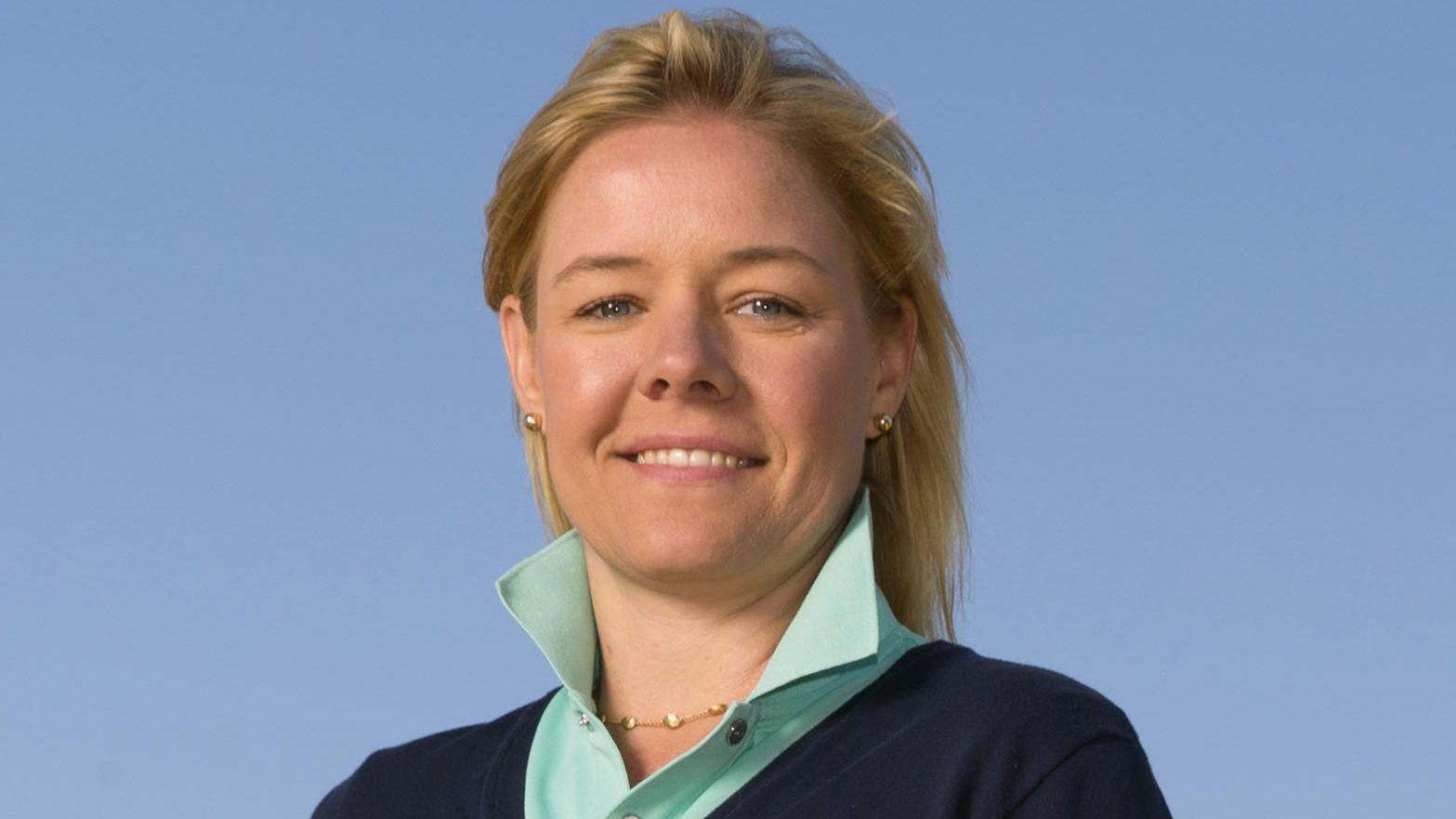 Golf executive Sarah Hirshland to lead embattled U.S. Olympic Committee