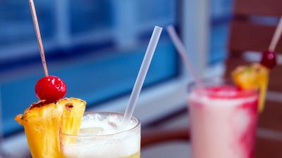 Cruise lines join the move to ban plastic drinking straws