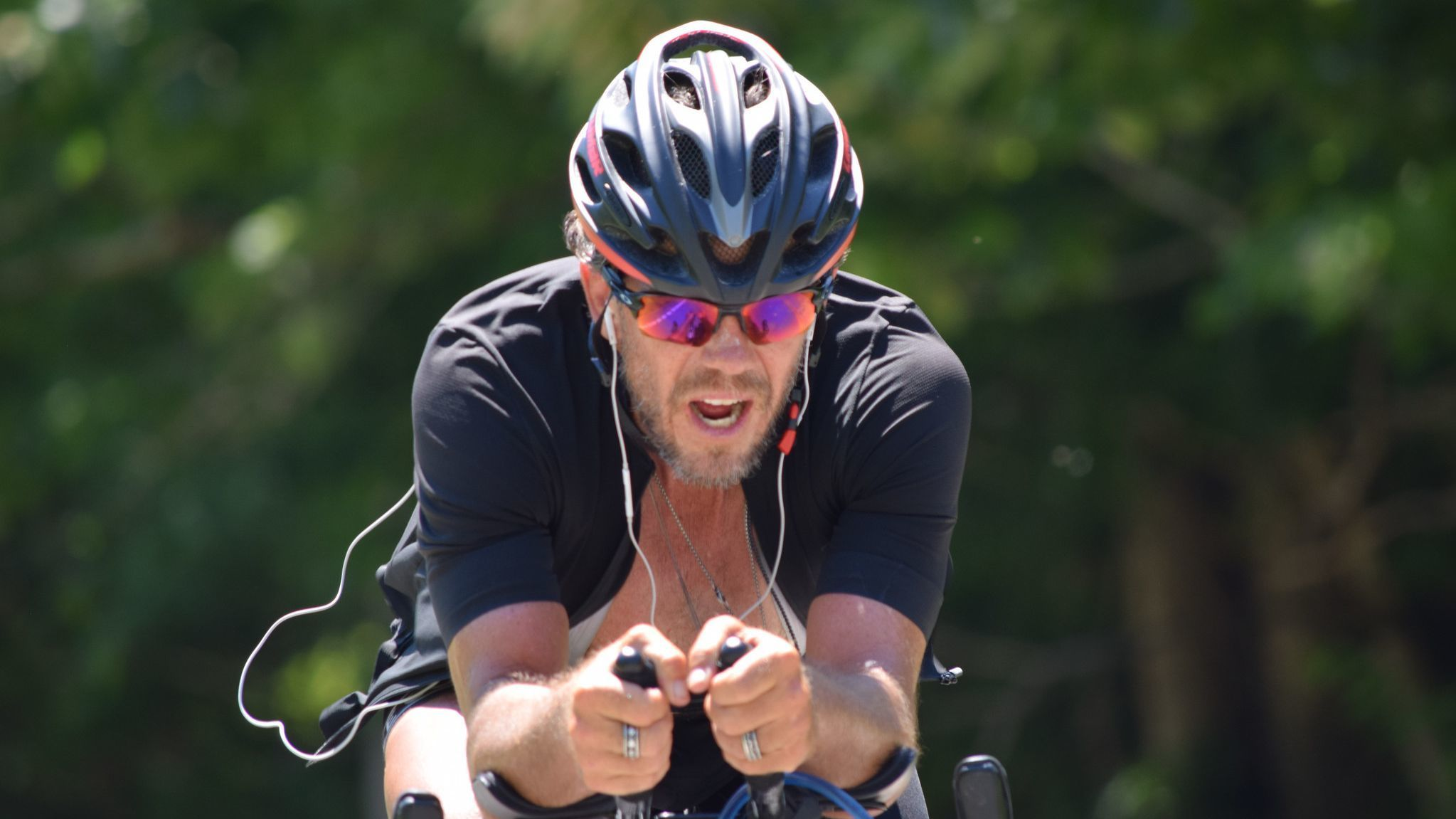 San Diegan sets American cross-country bike record | San Diego Union Tribune
