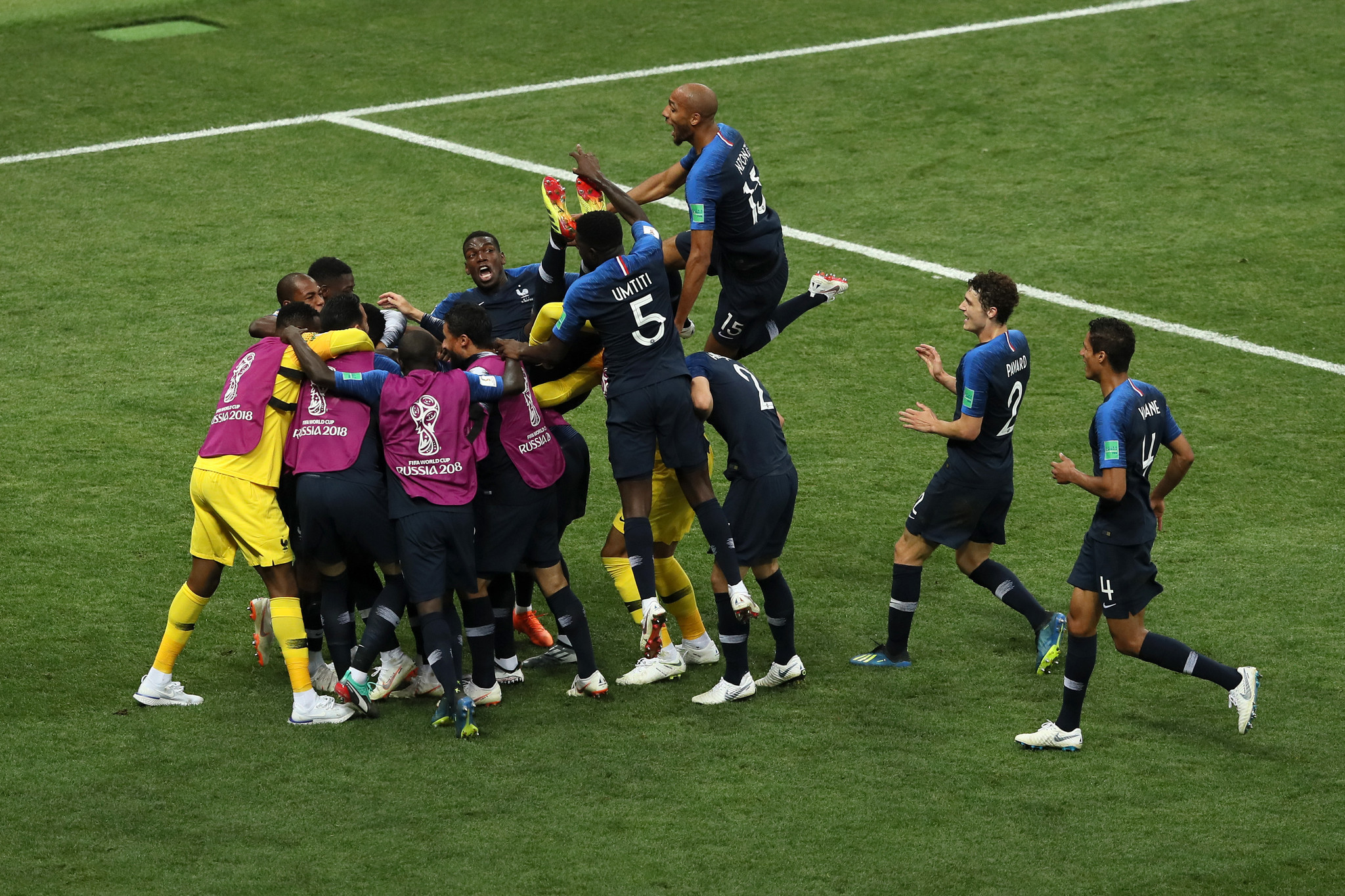 32665f17edf The latest  France defeat Croatia in the World Cup final - Chicago ...