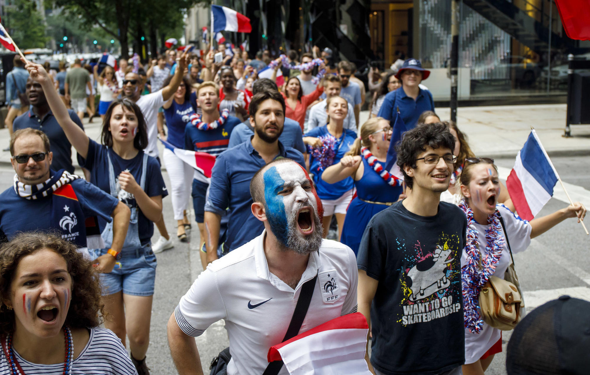 France wins its second World Cup title with 4-2 victory over Croatia