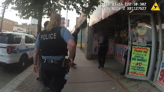 Body camera footage of police involved shooting on the 2000 block of East 71st street.