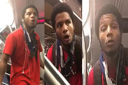 Spitting-mad dad surrenders to cops after menacing straphanger in caught-on-video tirade | New York Daily News