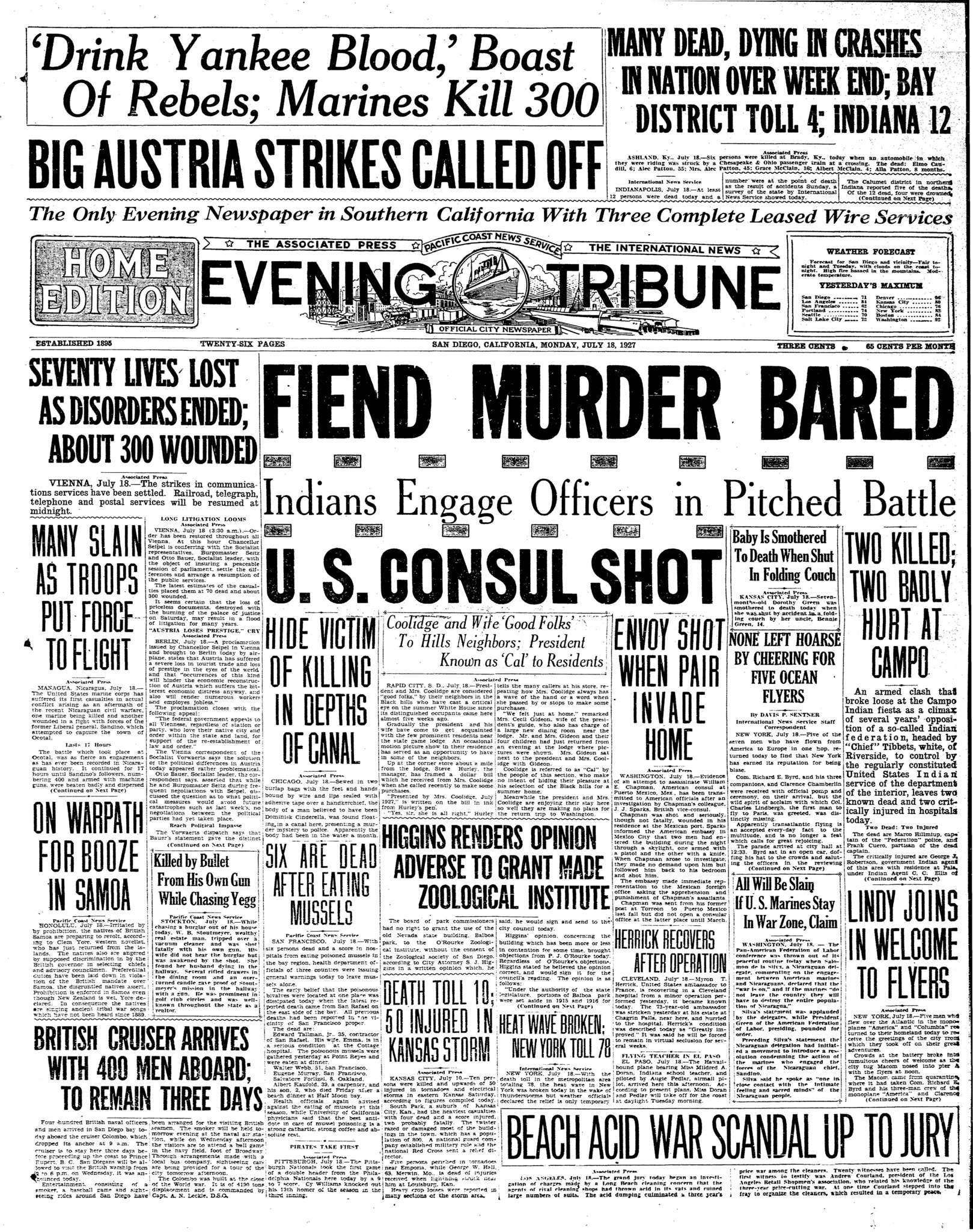 July 18, 1927