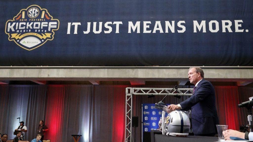 When it comes to media days, no one does it quite like the SEC