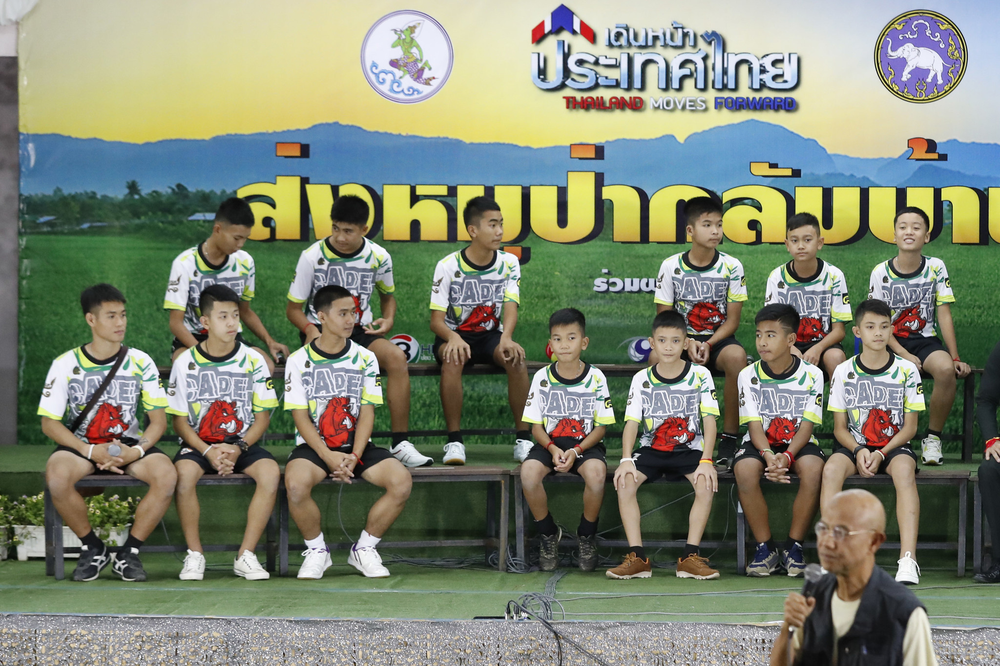 'I feel stronger': Thai youth soccer players that were ...