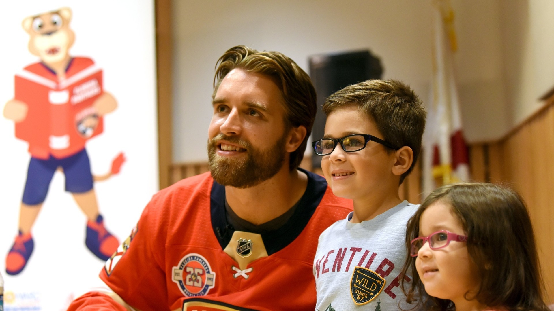 Fl-sp-ekblad-panthers-summer-reading-tour-video-20180718