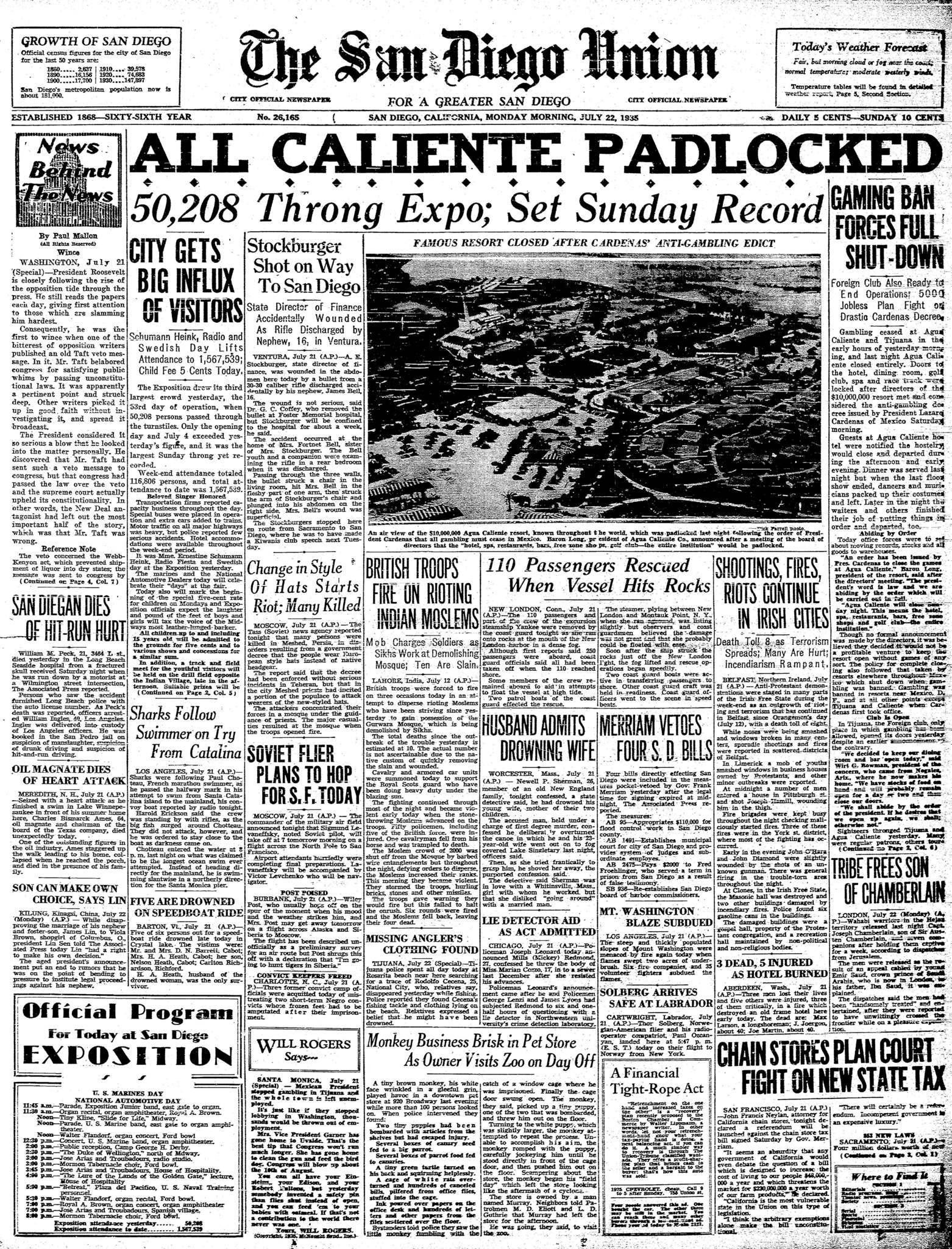 July 22, 1935