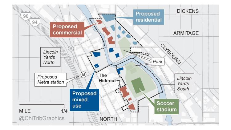 Lincoln Yards development map