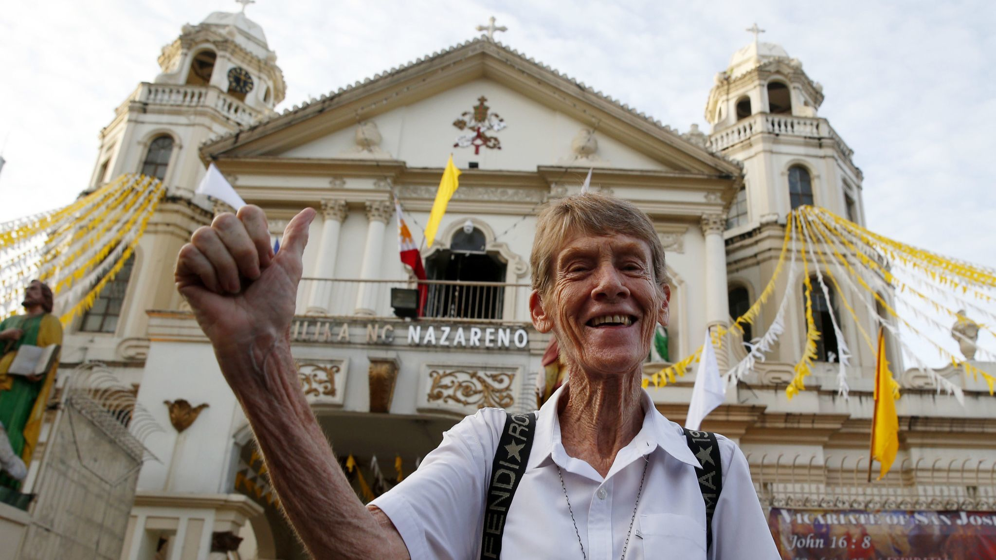 Philippines orders Australian nun deported and blacklisted as 'a risk to public interest'