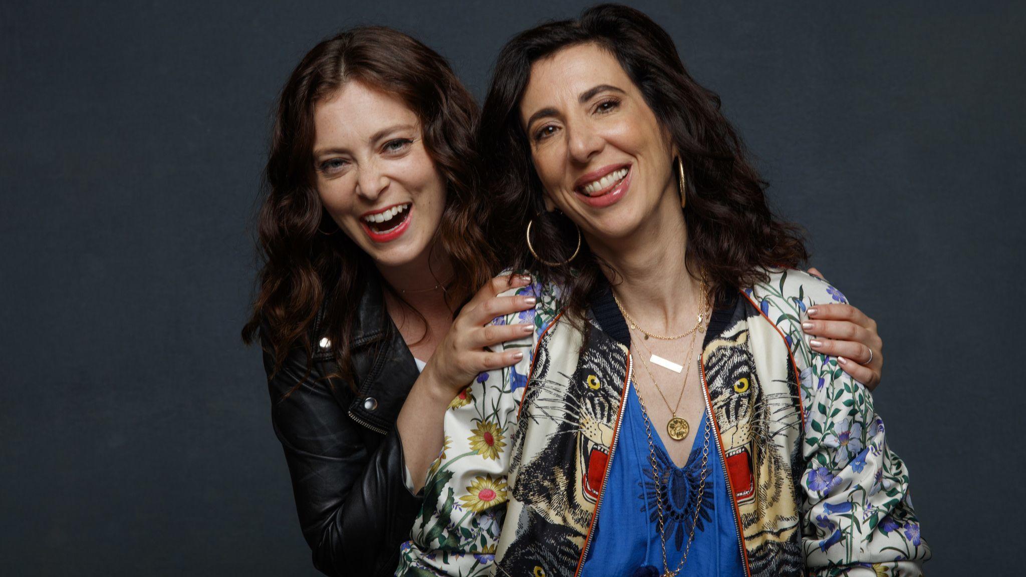 Rachel Bloom and Aline Brosh-McKenna