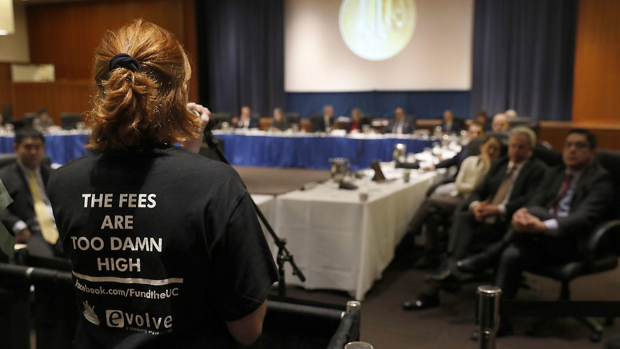 UC regents lower tuition for first time in nearly two decades