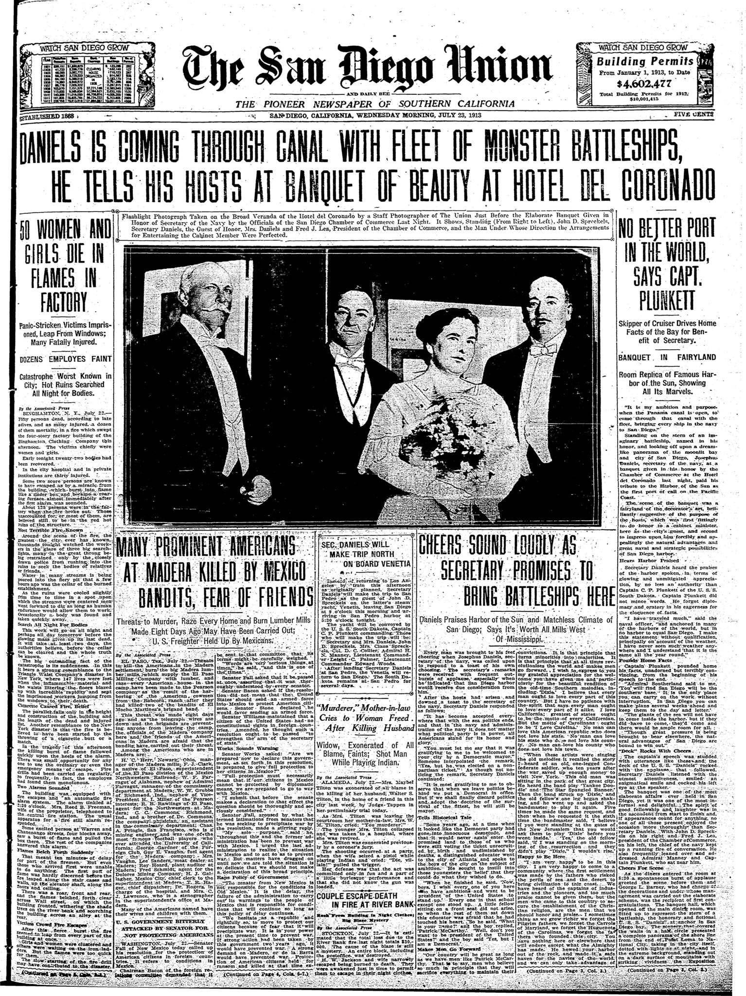 July 23, 1913