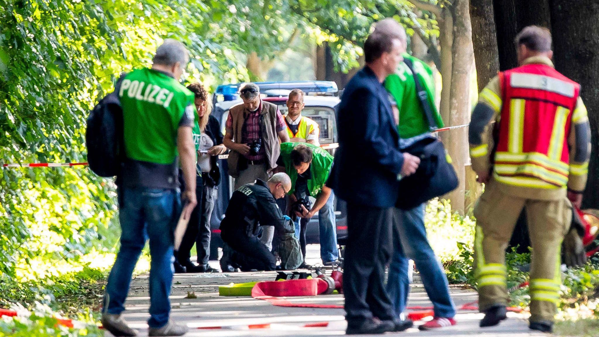 9 injured in knife attack on bus in Germany, suspect arrested