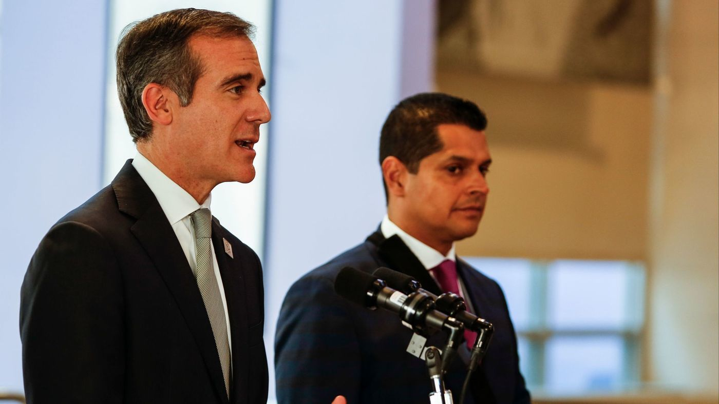 L.A. Mayor Eric Garcetti set to visit Asia on 10-day trade mission