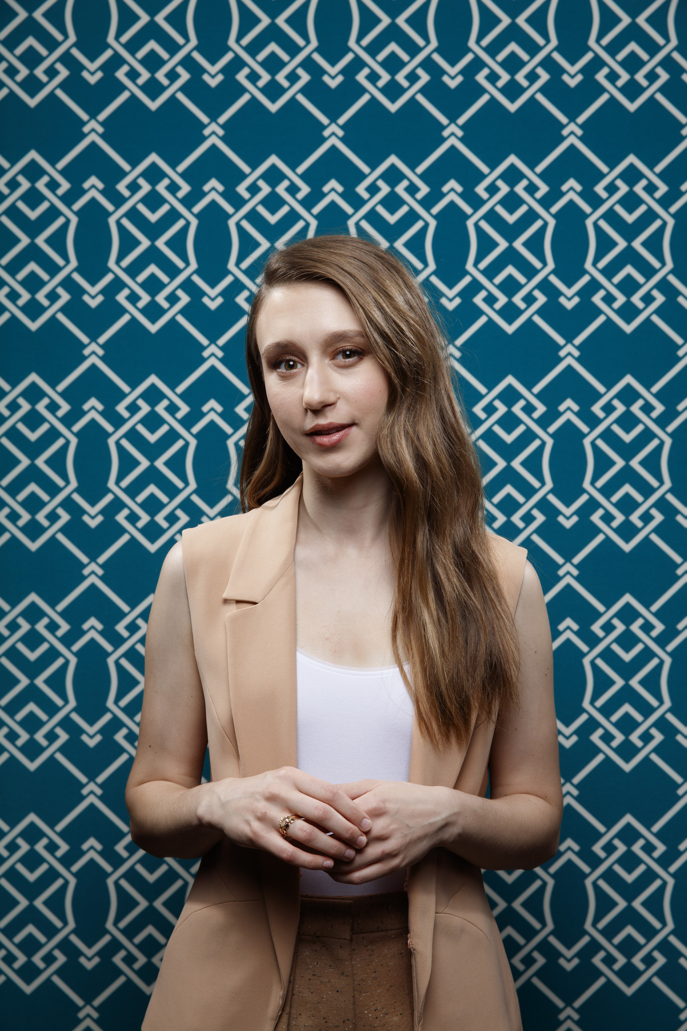 """SAN DIEGO, CALIF. -- JULY 19, 2018-- Taissa Farmiga from the film """"The Nun,"""" photographed in the L."""