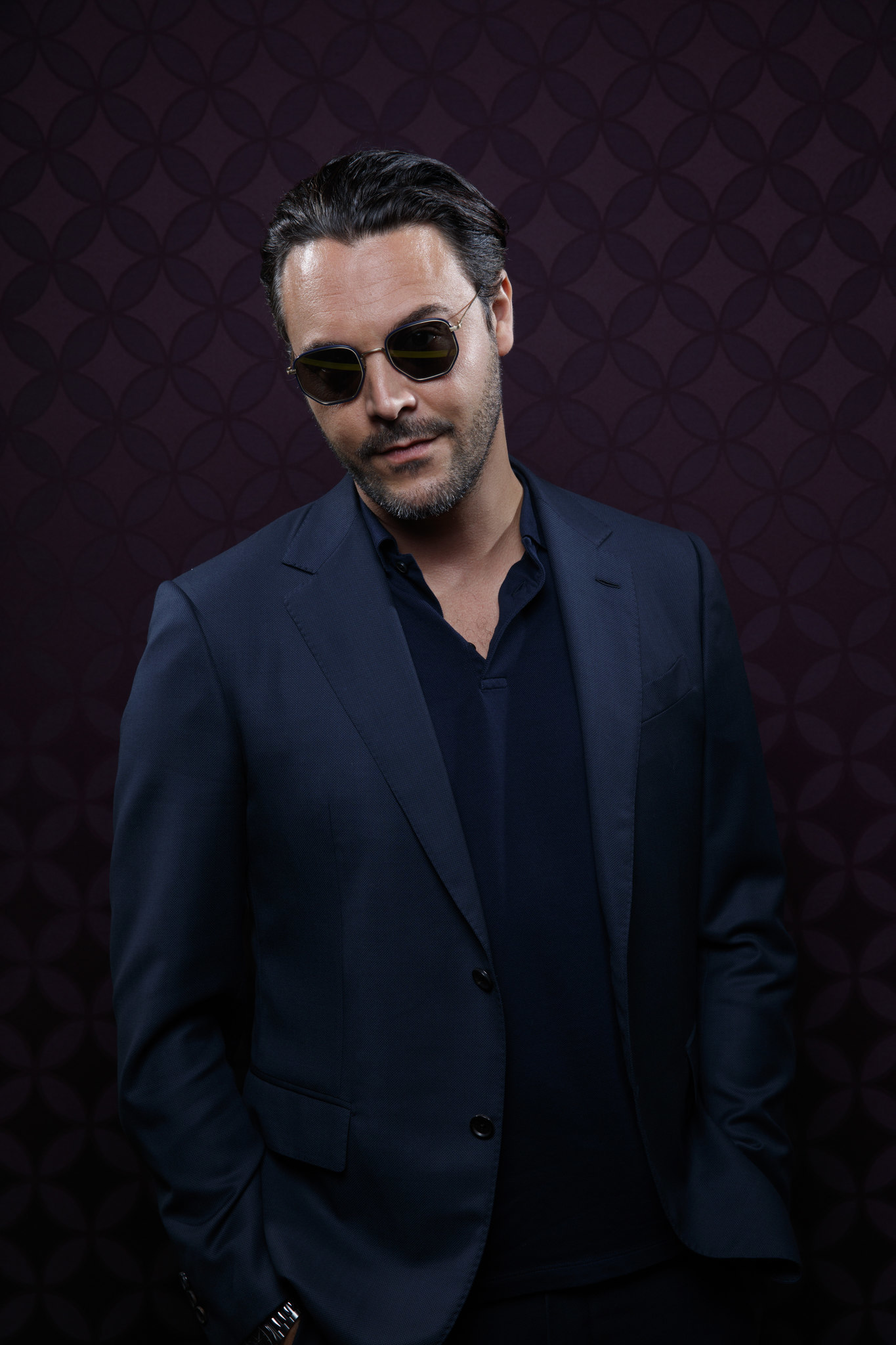 """SAN DIEGO, CALIF. -- JULY 19, 2018-- Jack Huston from the television series """"Mr. Mercedes,"""" photogr"""