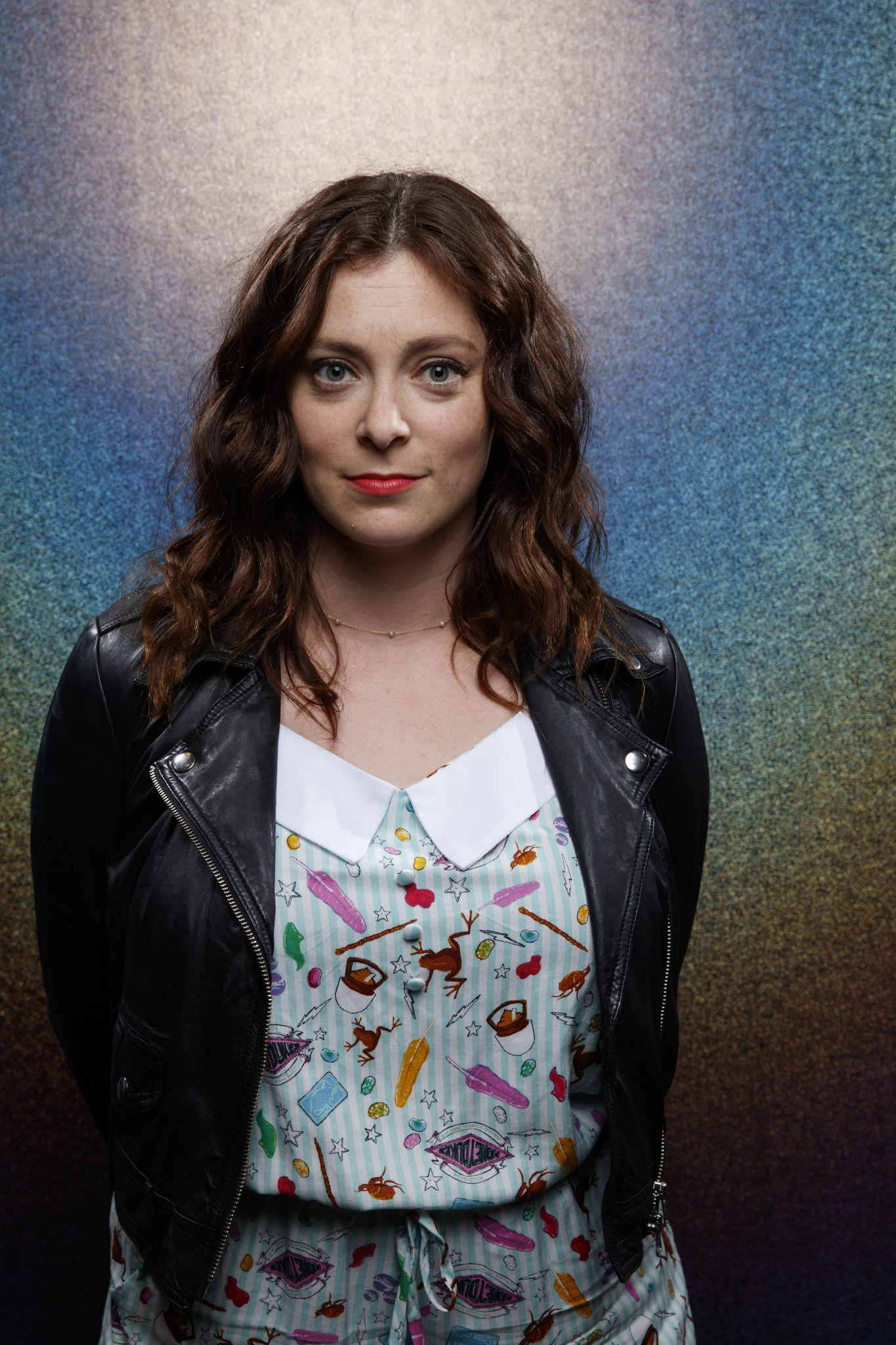 """SAN DIEGO, CALIF. -- JULY 19, 2018-- Rachel Bloom from the television series """"Crazy Ex-Girlfriend,"""""""