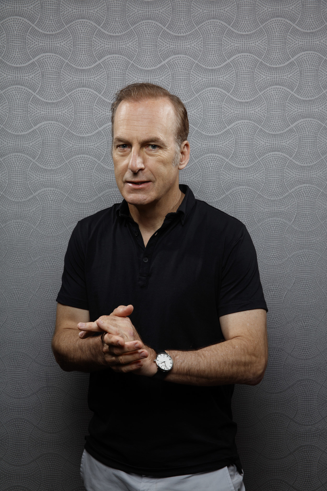 """SAN DIEGO, CALIF. -- JULY 19, 2018-- Bob Odenkirk from the television series """"Better Call Saul,"""" ph"""