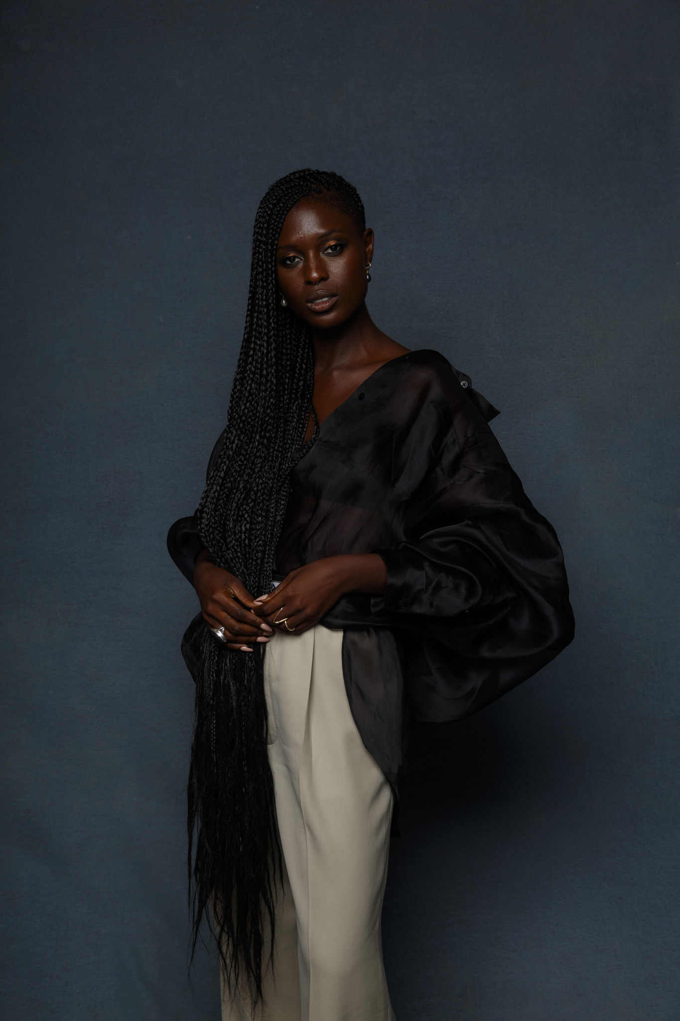 """SAN DIEGO, CALIF. -- JULY 19, 2018-- Jodie Turner-Smith from the television series """"Nightflyers,"""" p"""