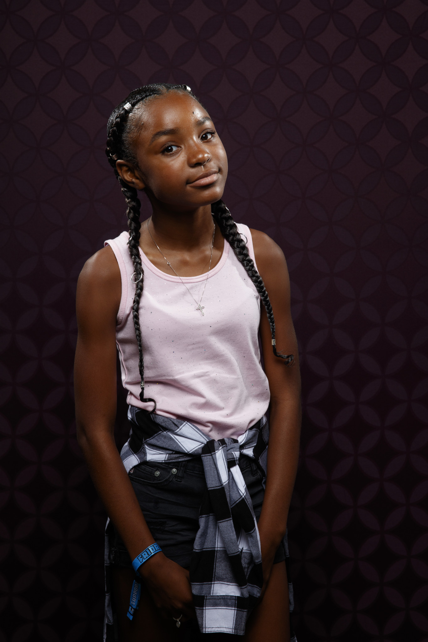 """SAN DIEGO, CALIF. -- JULY 20, 2018-- Saniyya Sidney from the television series """"The Passage"""" photog"""