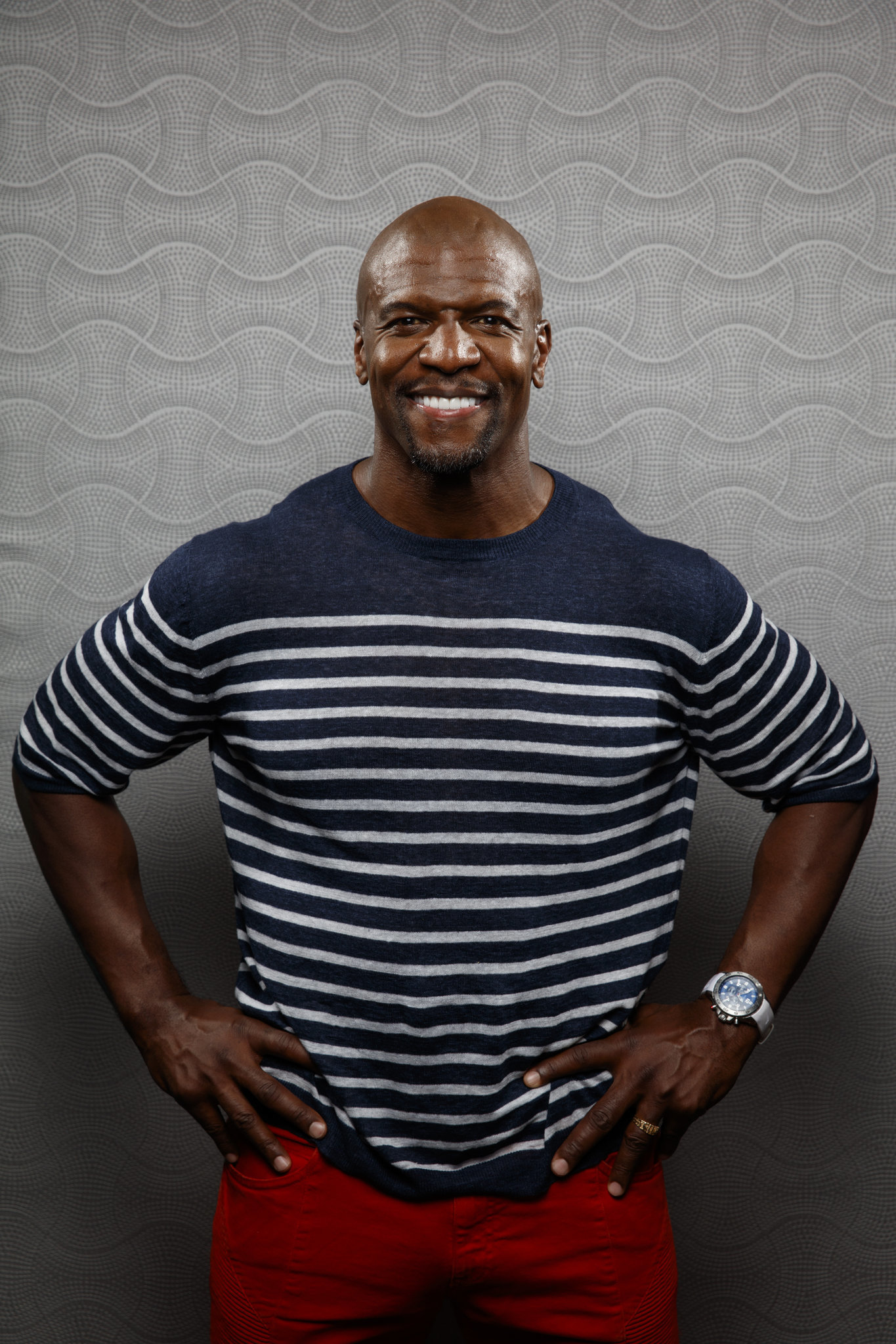 """SAN DIEGO, CALIF. -- JULY 19, 2018-- -Terry Crews from the television show """"Brooklyn Nine-Nine,"""" ph"""