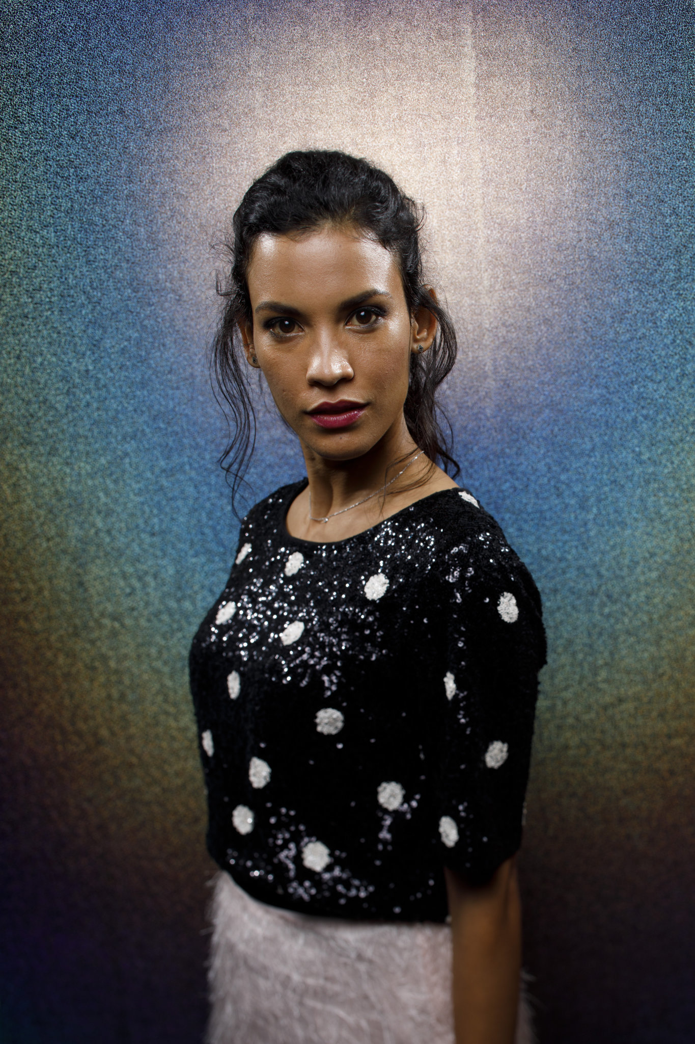"""SAN DIEGO, CALIF. -- JULY 20, 2018-- Danay Garcia from the television series """"Fear the Walking Dead"""""""