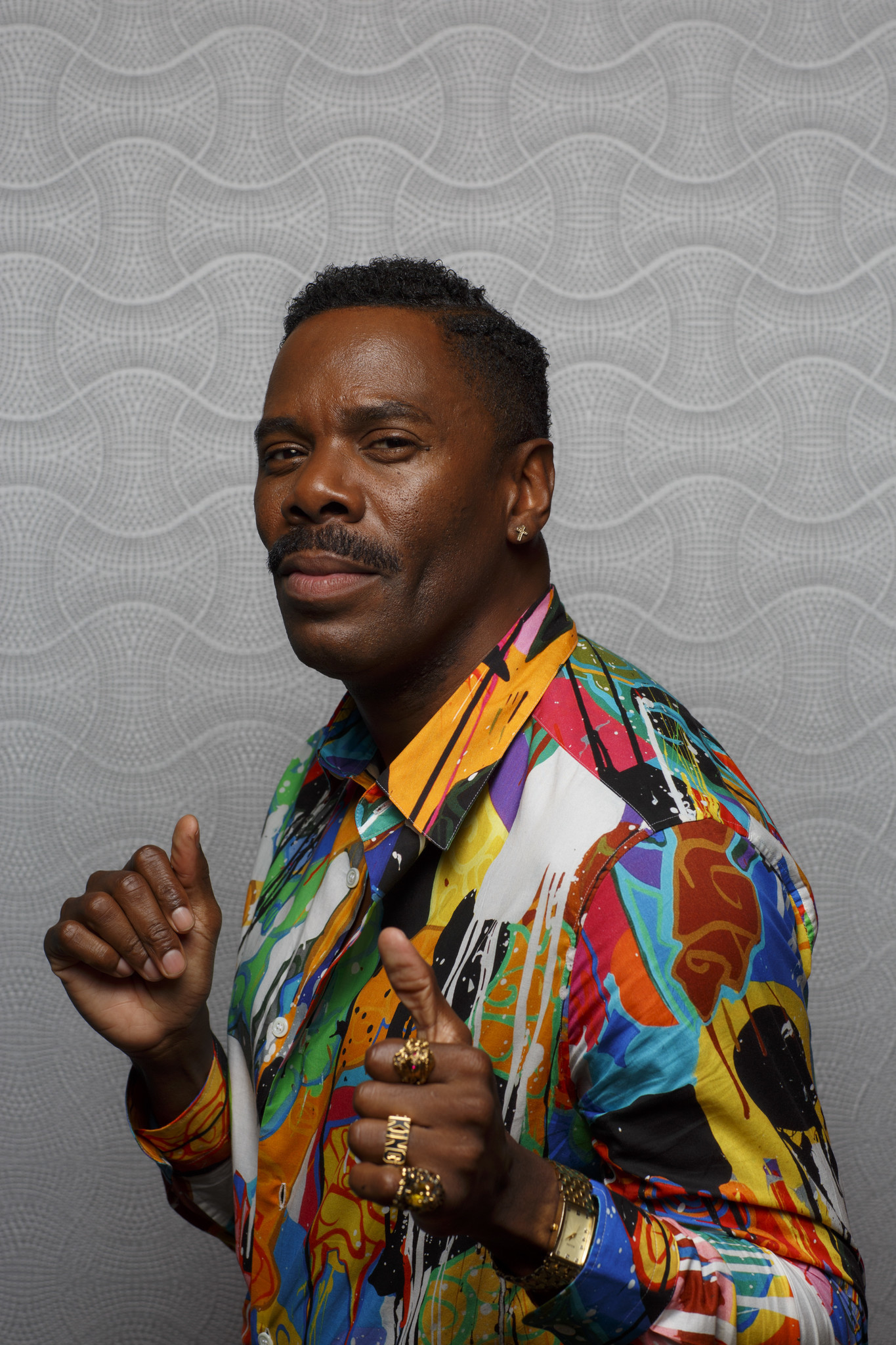 """SAN DIEGO, CALIF. -- JULY 20, 2018-- Colman Domingo from the television series """"Fear the Walking De"""