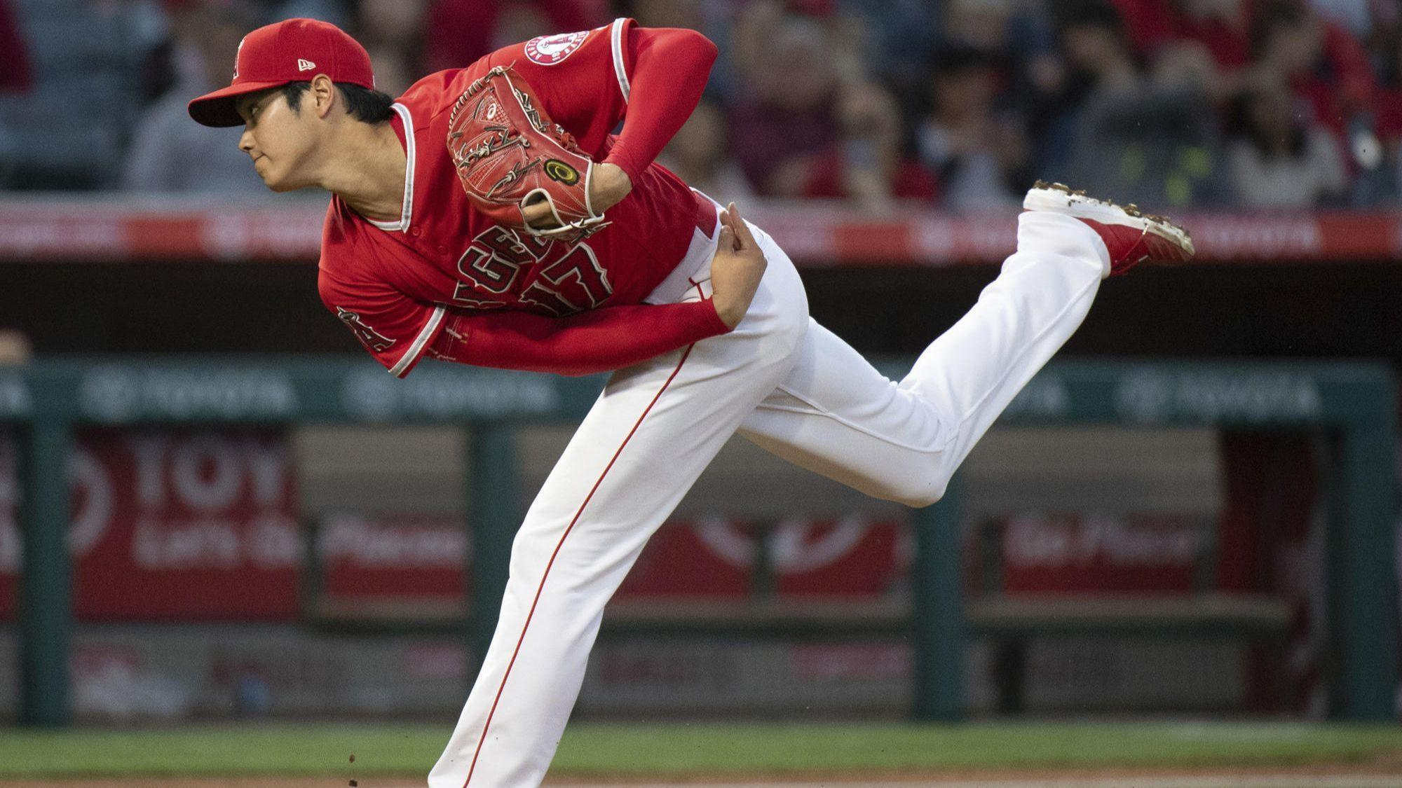Angels' two-way player Shohei Ohtani cleared to begin throwing program