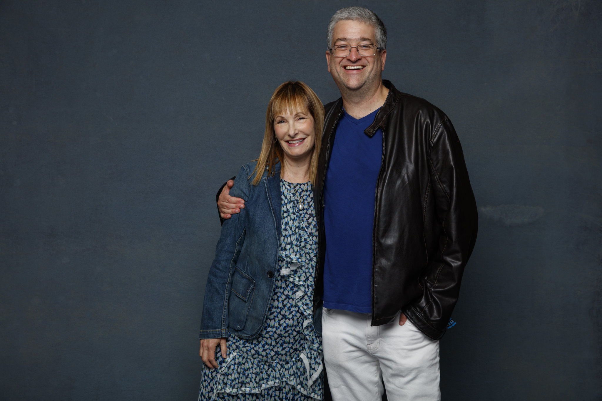 SAN DIEGO, CALIF. -- JULY 20, 2018-- (L-R)- Gale Anne Hurd and Sean Crouch from the television seri