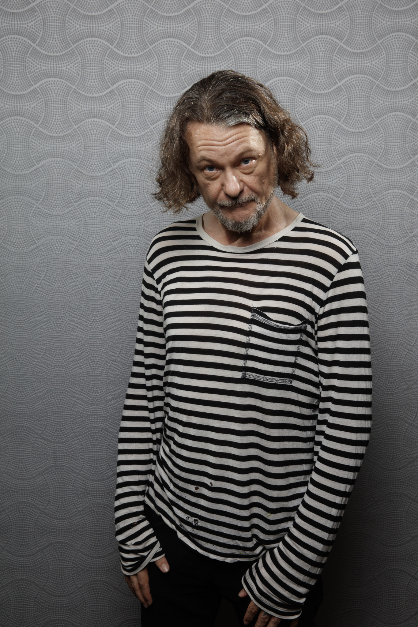 """SAN DIEGO, CALIF. -- JULY 20, 2018-- Ben Edlund from the television show """"Amazon Showrunners,"""" photo"""
