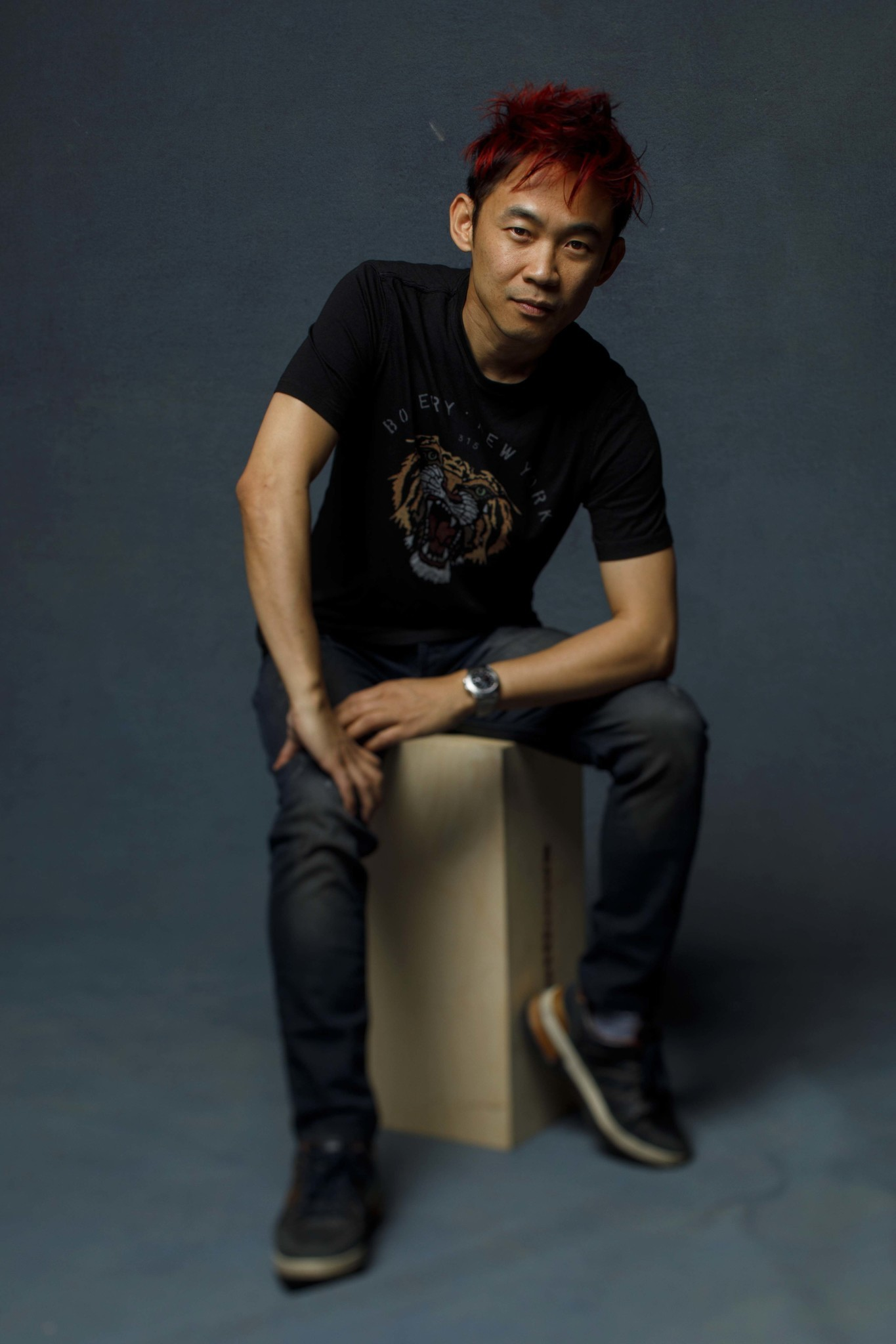 """SAN DIEGO, CALIF. -- JULY 20, 2018-- Director James Wan from the film """"Aquaman,"""" photographed in th"""