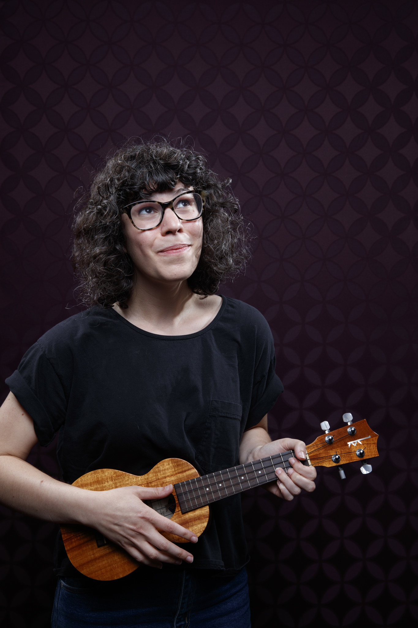 """SAN DIEGO, CALIF. -- JULY 20, 2018-- Rebecca Sugar from the animated series """"Steven Universe,"""" phot"""