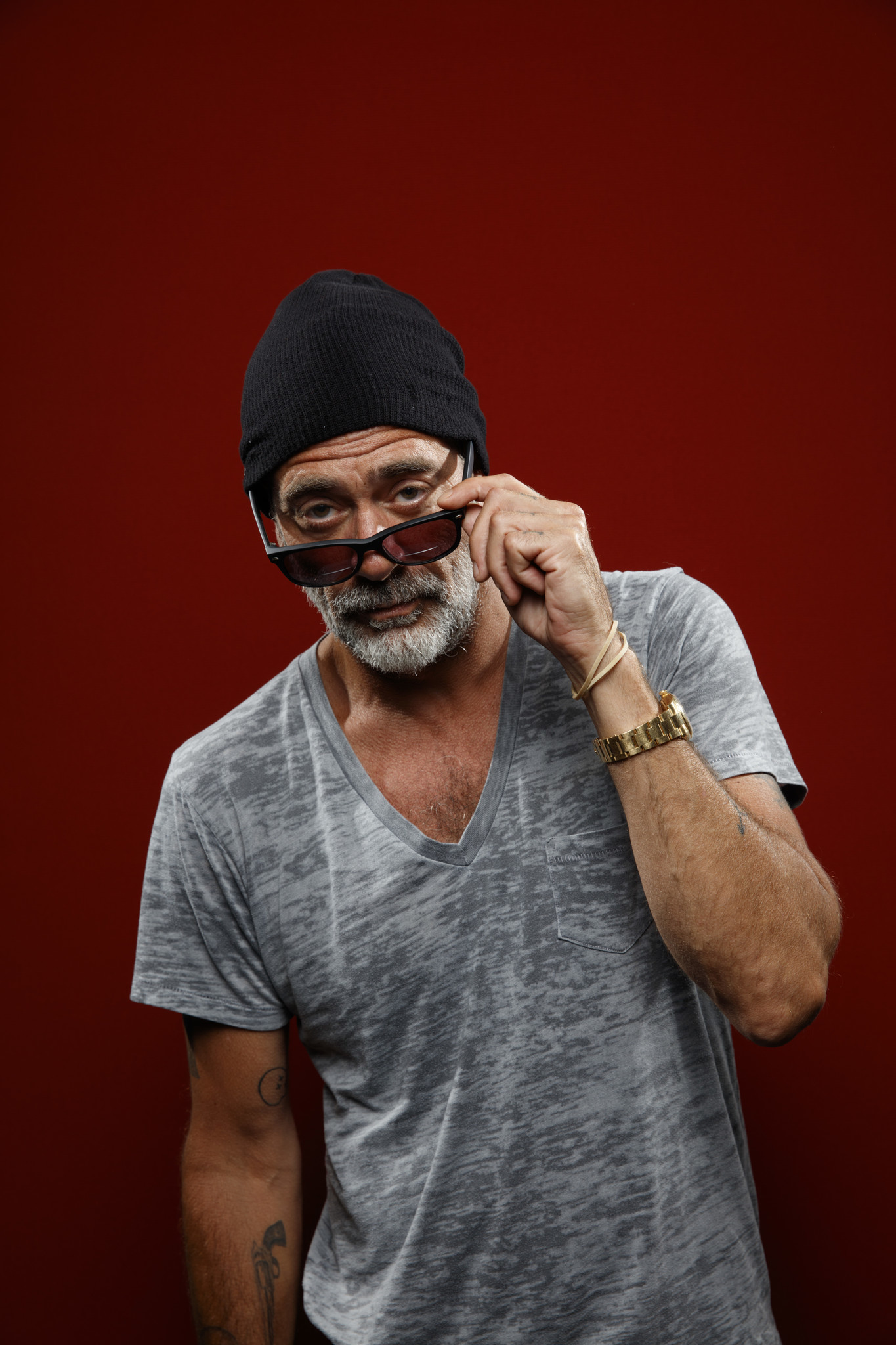 """SAN DIEGO, CALIF. -- JULY 21, 2018-- Jeffrey Dean Morgan from the television series """"The Walking Dea"""