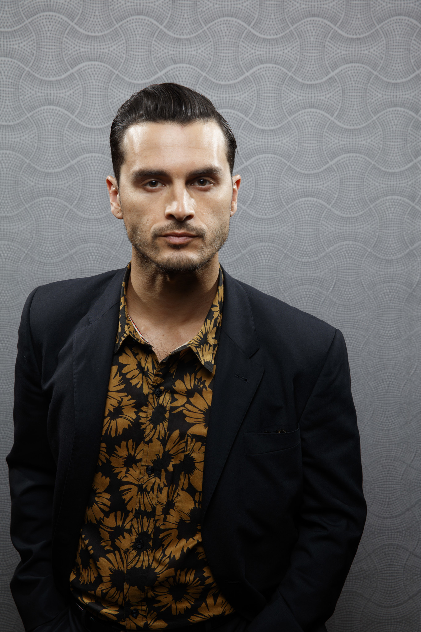 """SAN DIEGO, CALIF. -- JULY 21, 2018-- Michael Malarkey from the television series """"Project Blue Book"""
