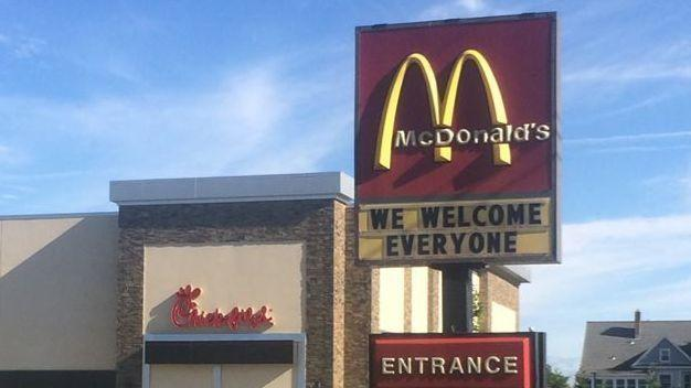 Glastonbury McDonald's Sign Sparks Debate Ahead Of Chick-fil-A Opening