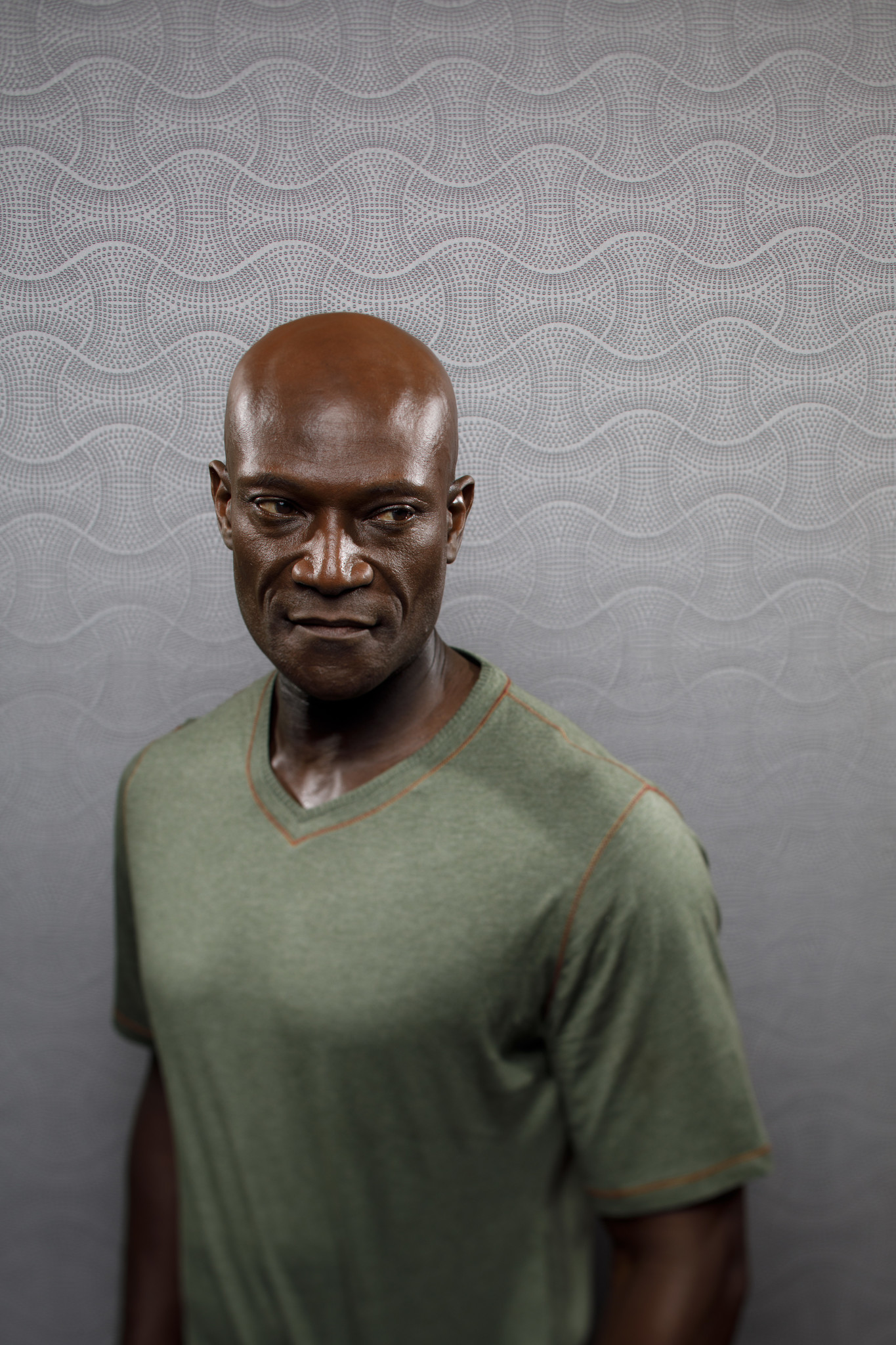 """SAN DIEGO, CALIF. -- JULY 21, 2018-- Peter Mensah from the television series """"Midnight, Texas"""" photo"""