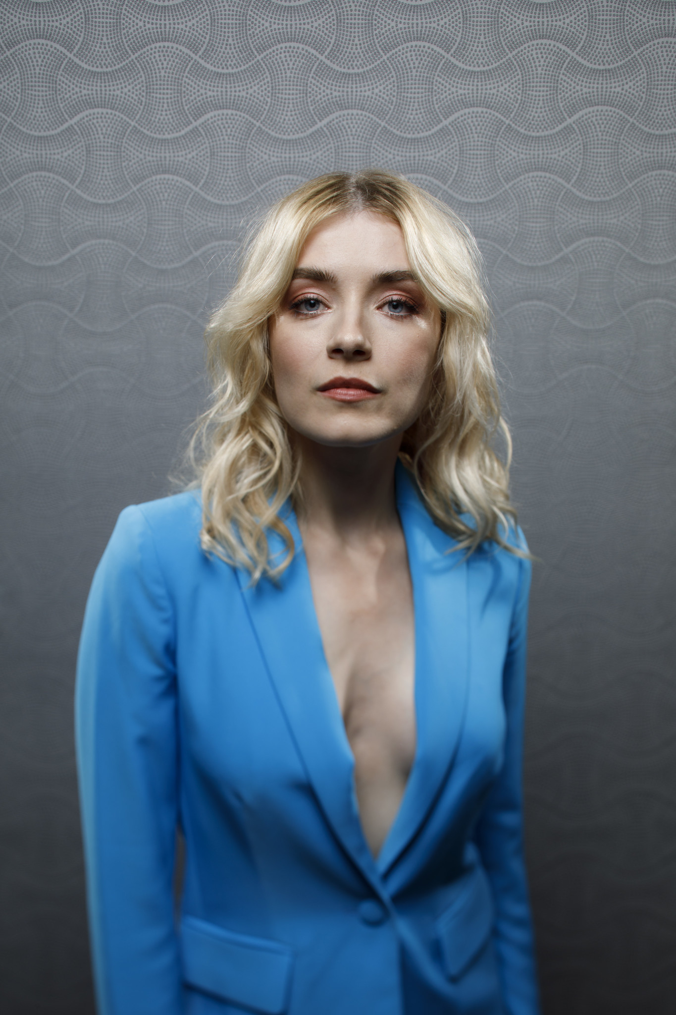 """SAN DIEGO, CALIF. -- JULY 21, 2018-- Sarah Bolgers from the television series """"Mayans M.C.,"""" photog"""