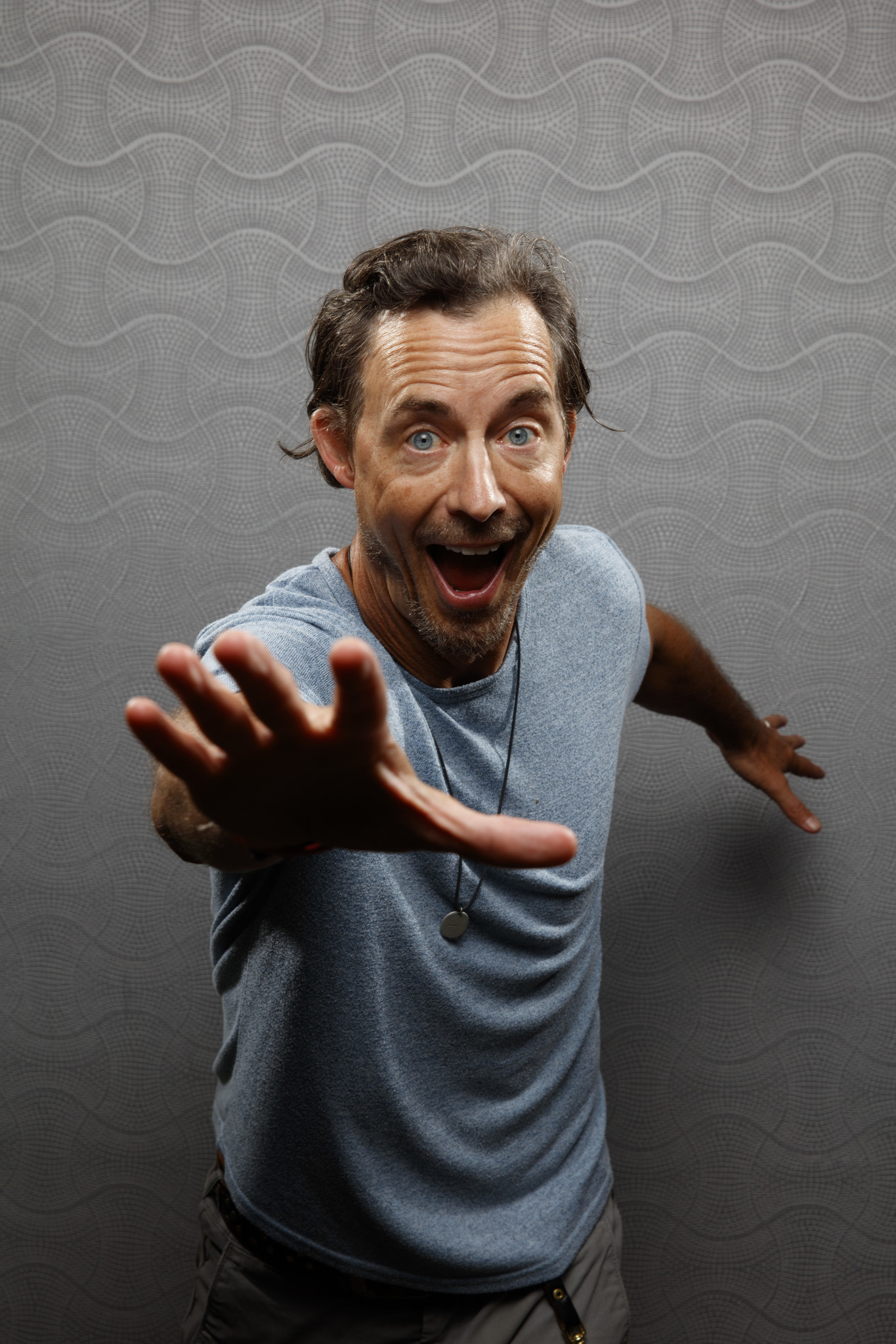 """SAN DIEGO, CALIF. -- JULY 21, 2018-- Tom Cavanagh from the television series """"The Flash,"""" photograph"""