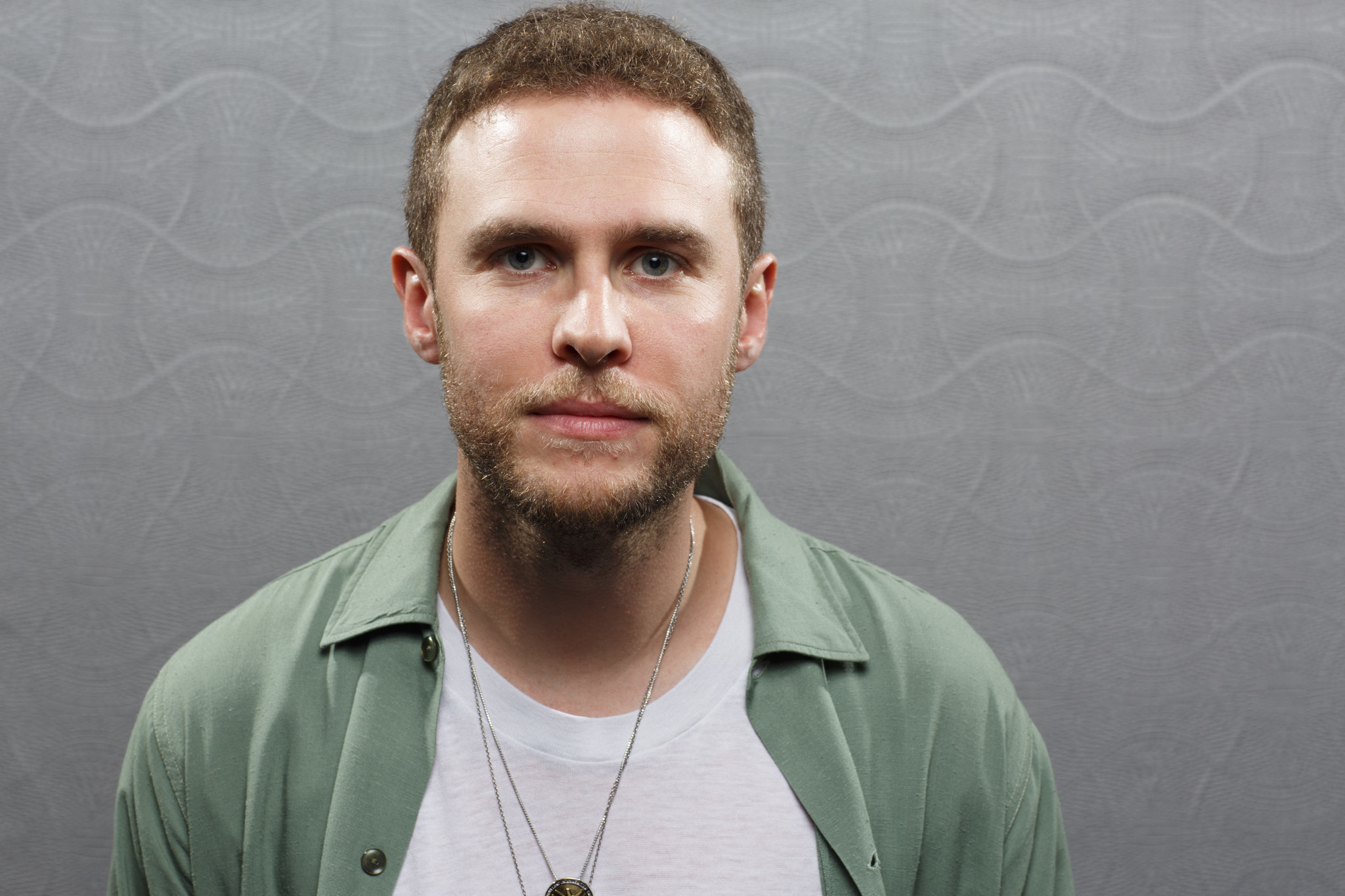 """SAN DIEGO, CALIF. -- JULY 21, 2018-- Iain De Caestecker from the television series """"Agents of SHIEL"""