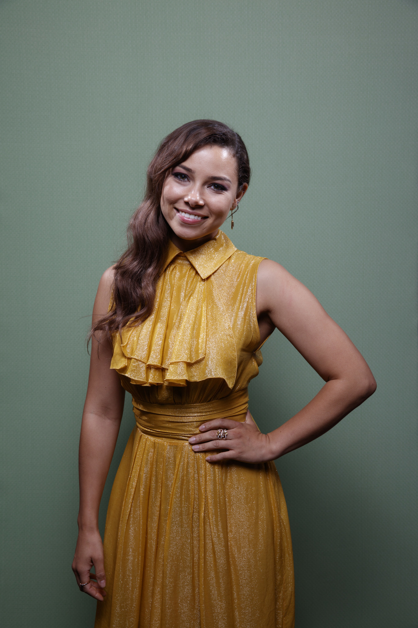 """SAN DIEGO, CALIF. -- JULY 21, 2018-- Jessica Parker Kennedy from the television series """"The Flash,"""""""