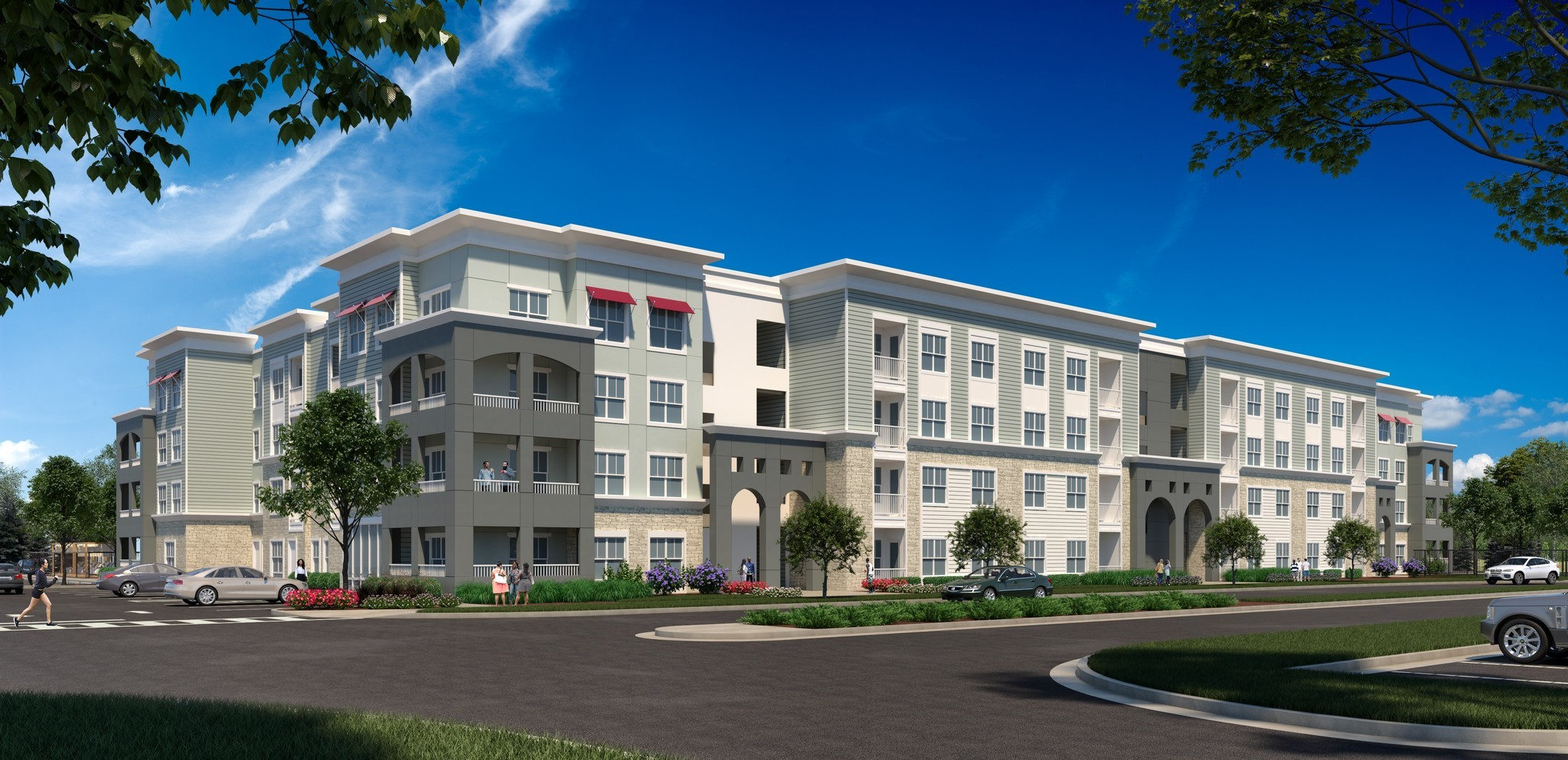 Watermark Under Contract For Multifamily Site Across From