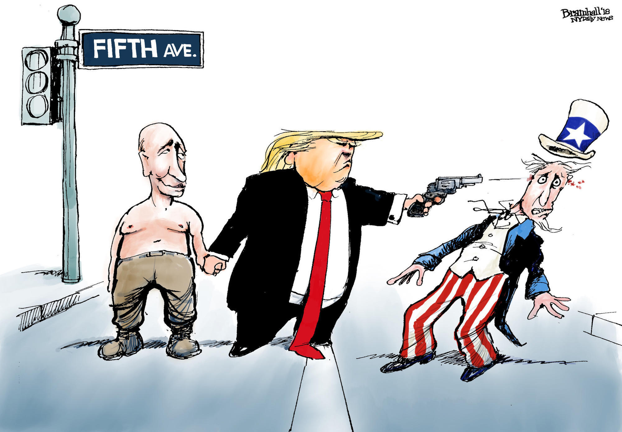 Image result for trump dictator cartoon