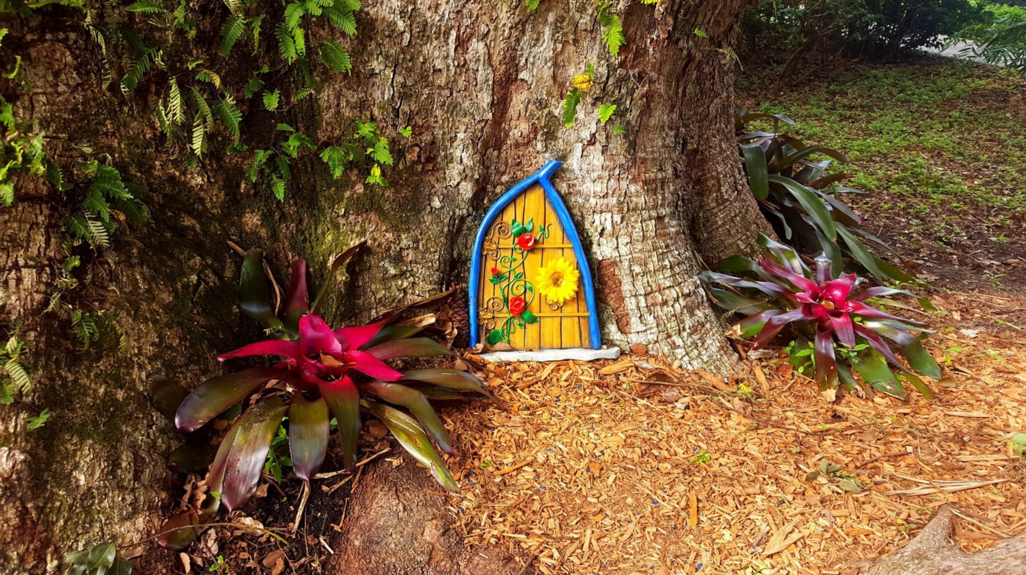 Fairy Doors enchant at Leu Gardens - Orlando Sentinel