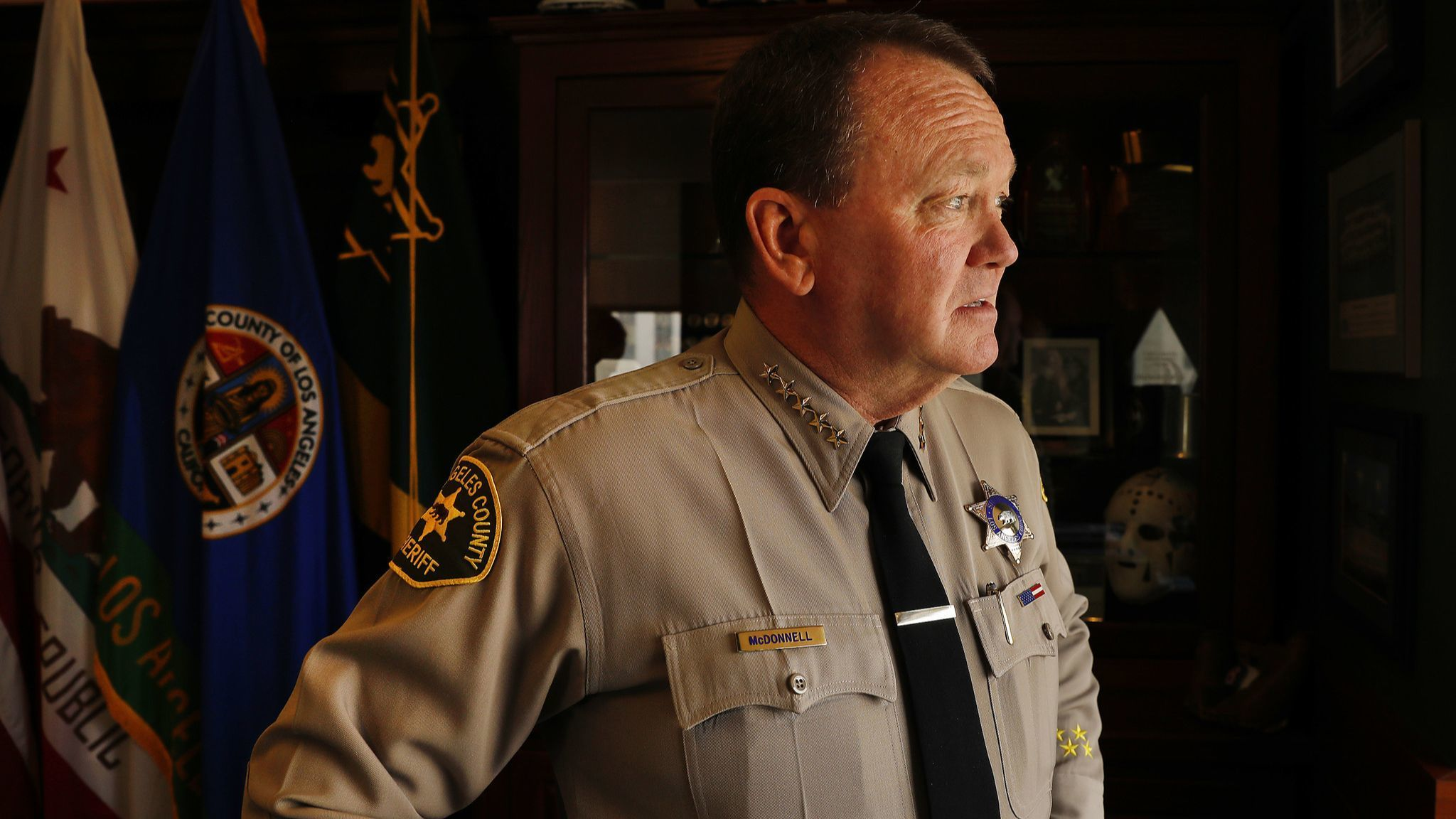 L.A. County Sheriff Jim McDonnell