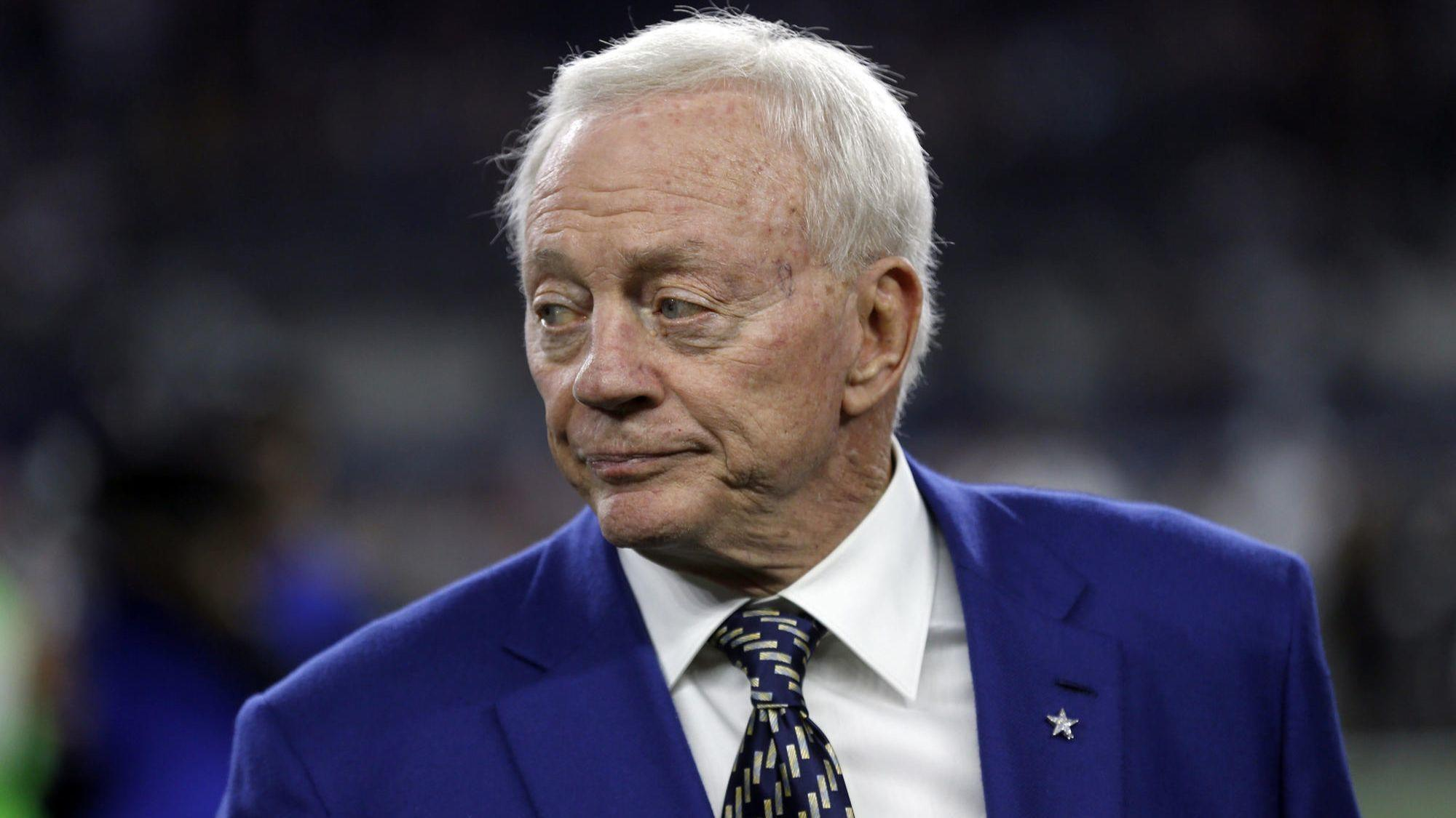 Jerry Jones says his players won't have the option of remaining in the locker room during the anthem